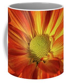 Daisy Mum In Orange And Yellow Coffee Mug