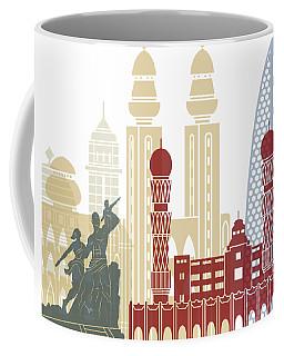 Dakar Skyline Poster Coffee Mug