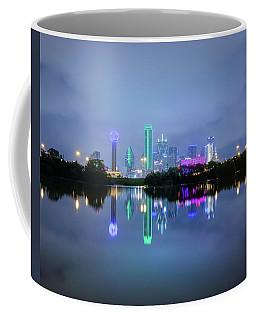 Dallas Cityscape Reflection Coffee Mug