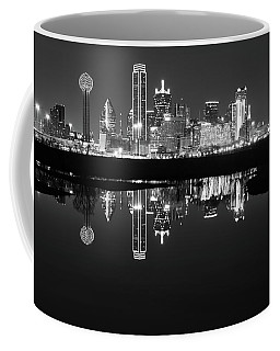 Dallas Texas Cityscape Reflection Coffee Mug