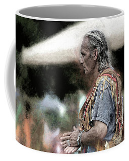 Coffee Mug featuring the photograph Dance Of The Woodland Elder by Wayne King