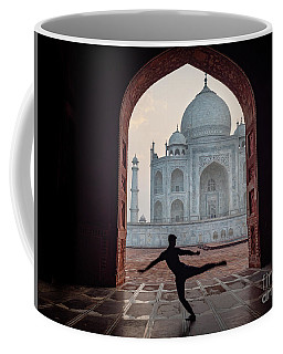 Dancer At The Taj Coffee Mug