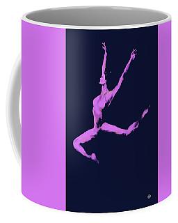 Dancer In The Dark Blue Coffee Mug