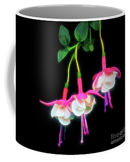 Dancing Fuchsia Abstract Coffee Mug