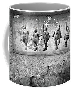 Dancing Venus - Naked Crones Black And White Coffee Mug