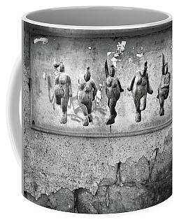 Dancing Venus - Naked Crones Black And White Coffee Mug