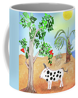 Coffee Mug featuring the digital art Dare To Be Different by Teresa Epps