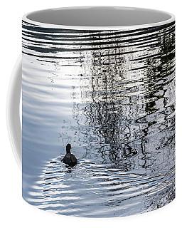 Dark Ripples Coffee Mug