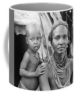 Dassanech Mother And Baby 2 Coffee Mug