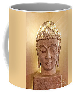 Coffee Mug featuring the photograph Dawn Buddha  by LeeAnn Kendall