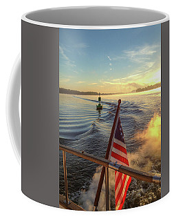 Coffee Mug featuring the photograph Dawn On The Sassafras River by Mark Duehmig
