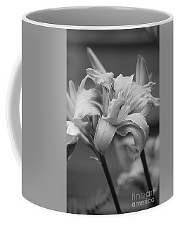 Coffee Mug featuring the photograph Day Lily Yellow Filter by Jeni Gray
