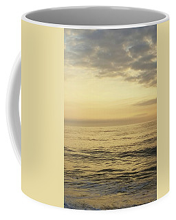 Coffee Mug featuring the photograph Daybreak Over The Ocean 2 by Robert Banach