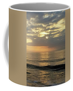 Coffee Mug featuring the photograph Daybreak Over The Ocean 3 by Robert Banach