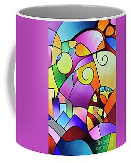 Daydream Canvas Two Coffee Mug