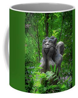 Daydreaming Gargoyle Coffee Mug