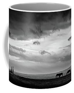 Days End At Hvammstangi Coffee Mug