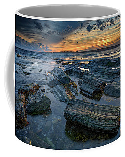 Day's End In Kettle Cove Coffee Mug