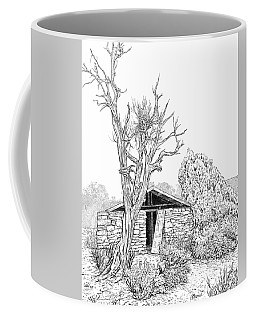 Decay Of Calamity The Half Life Of A Dream Black And White  Coffee Mug