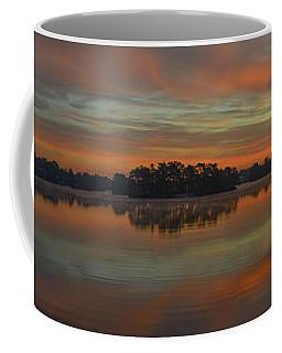December Sunrise Over Spring Lake Coffee Mug