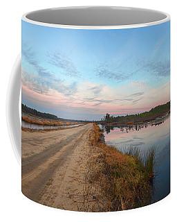 December Sunset At Whitesbog Nj Coffee Mug