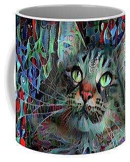 Deedee In Blue And Red Coffee Mug