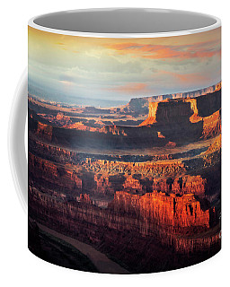 Coffee Mug featuring the photograph Deep Canyon by Scott Kemper