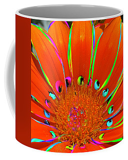 Deep Coral Bloom  Coffee Mug