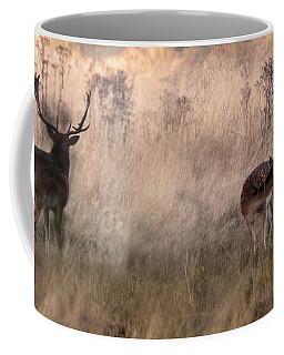 Deer In The Grasses Coffee Mug