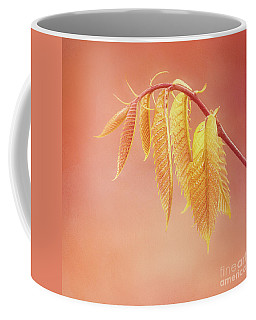Delightful Baby Chestnut Leaves Coffee Mug