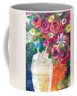 Delightful Bouquet 2- Art By Linda Woods Coffee Mug