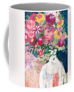 Delightful Bouquet- Art By Linda Woods Coffee Mug