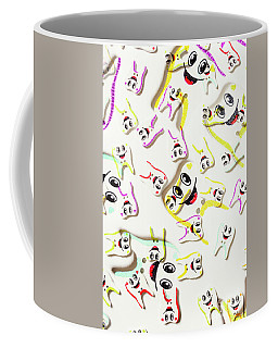 Dental Clinic Caricatures Coffee Mug