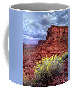 Desert Bouquets On A Stormy Eve Coffee Mug