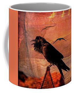 Desert Raven Coffee Mug