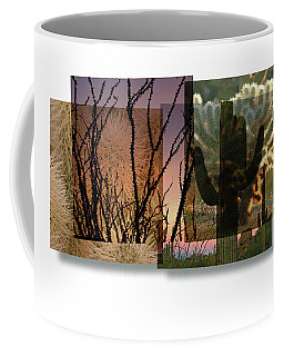 Coffee Mug featuring the photograph Desert Suite No 3 by Mark Shoolery