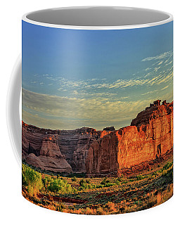 Desert Sunrise In Color Coffee Mug