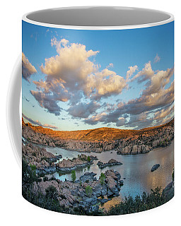 Coffee Mug featuring the photograph Desert Water by Scott Kemper