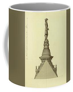 Design For City Hall Tower Coffee Mug