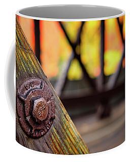 Details On A Covered Bridge Coffee Mug