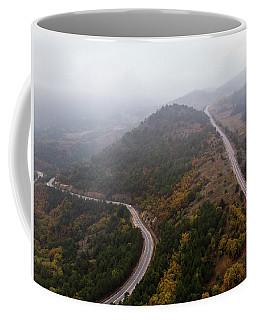 Coffee Mug featuring the photograph Detour-2 by Okan YILMAZ