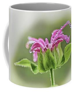 Dew Covered Beebalm Coffee Mug