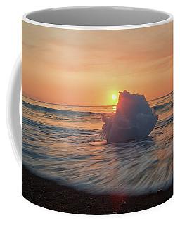 Diamond Beach Sunrise Iceland Coffee Mug