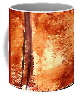 Coffee Mug featuring the digital art Digital Abstract No9. by Clyde J Kell