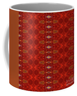 Patterns Colorful - Ruby Red Modern Pattern - By Omaste Witkowski Coffee Mug