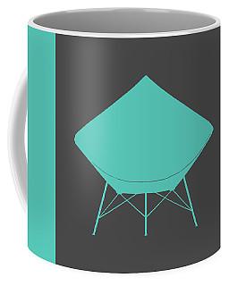 Dimond Lounge Chair Teal Coffee Mug