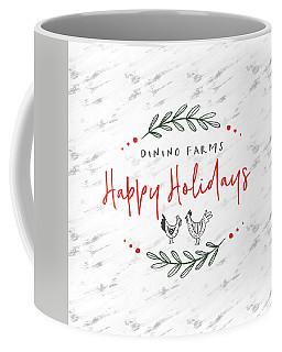 Coffee Mug featuring the digital art Dinino Farms- Art By Linda Woods by Linda Woods