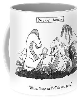 Dinosaur's Almanac Coffee Mug