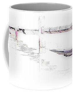 Disappearing Fence Coffee Mug