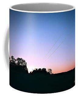 Disappearing Lines Coffee Mug
